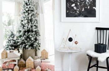 table de noel diy