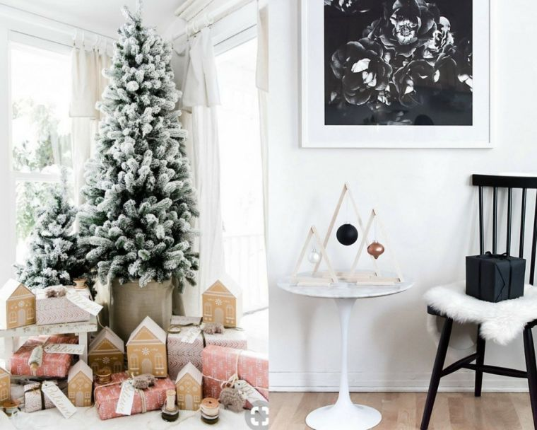 decor de noel maison salon idées diy