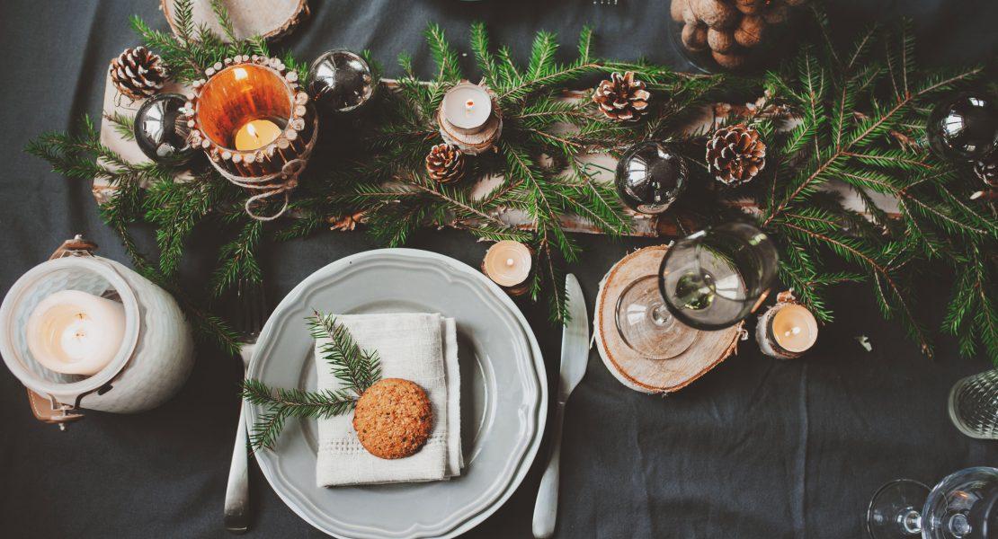 DIY faciles pour une décoration de table de Noël originale