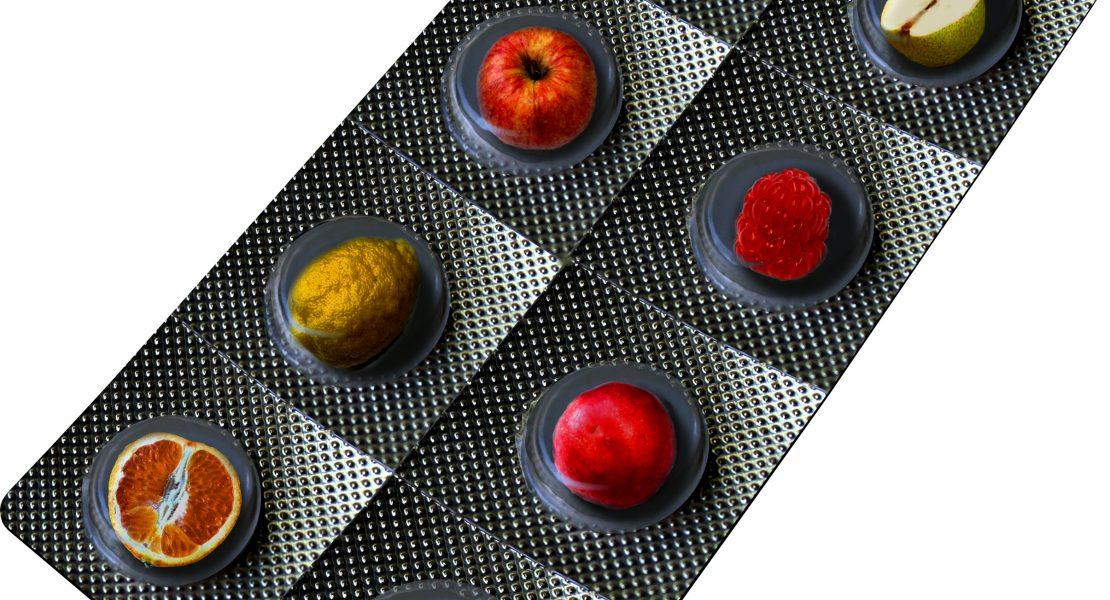 Fruit Vitamins as Pills